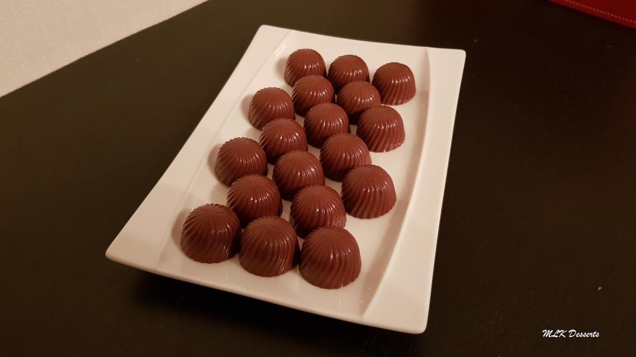 Chocolats fourrés aupraliné