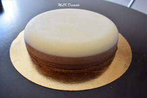 Entremet aux 3 chocolats version 2017