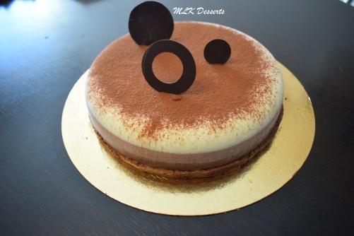 Entremet aux 3 chocolats version 2017
