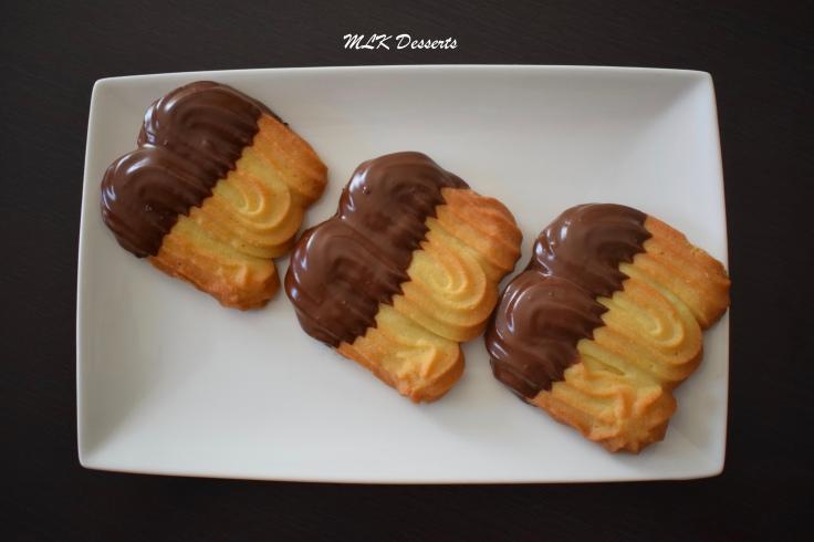 Sablés Viennois mélange de Chocolat noir et chocolat au lait