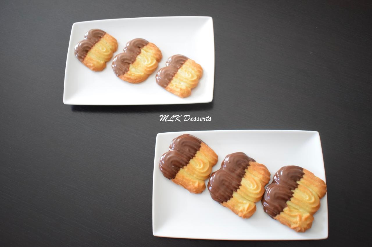 Sablés Viennois Chocolat noir et chocolat au lait