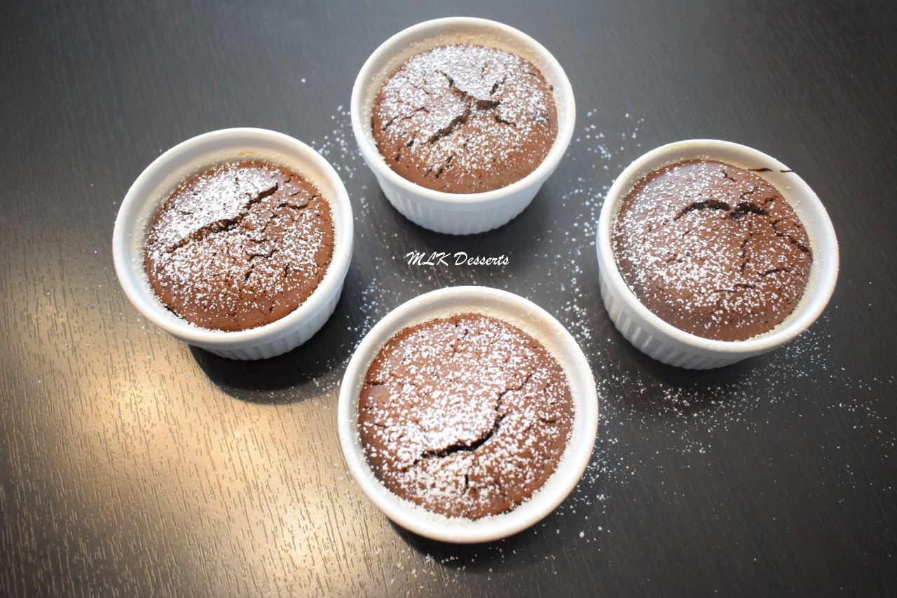 Fondant chocolat et coeurcoulant