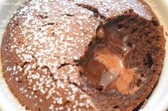 Fondant chocolat au Coeur coulant chocolat noir et lait