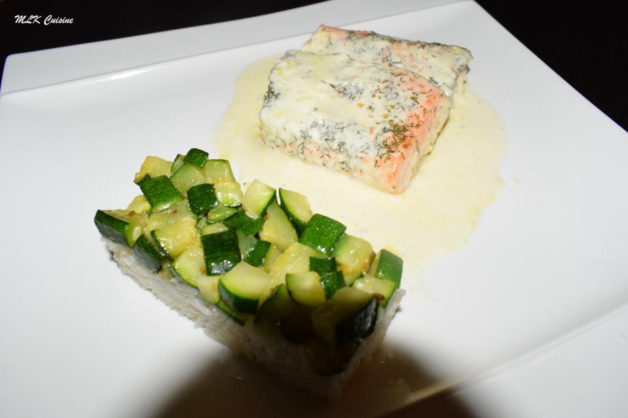 Filet de saumon enpapillote