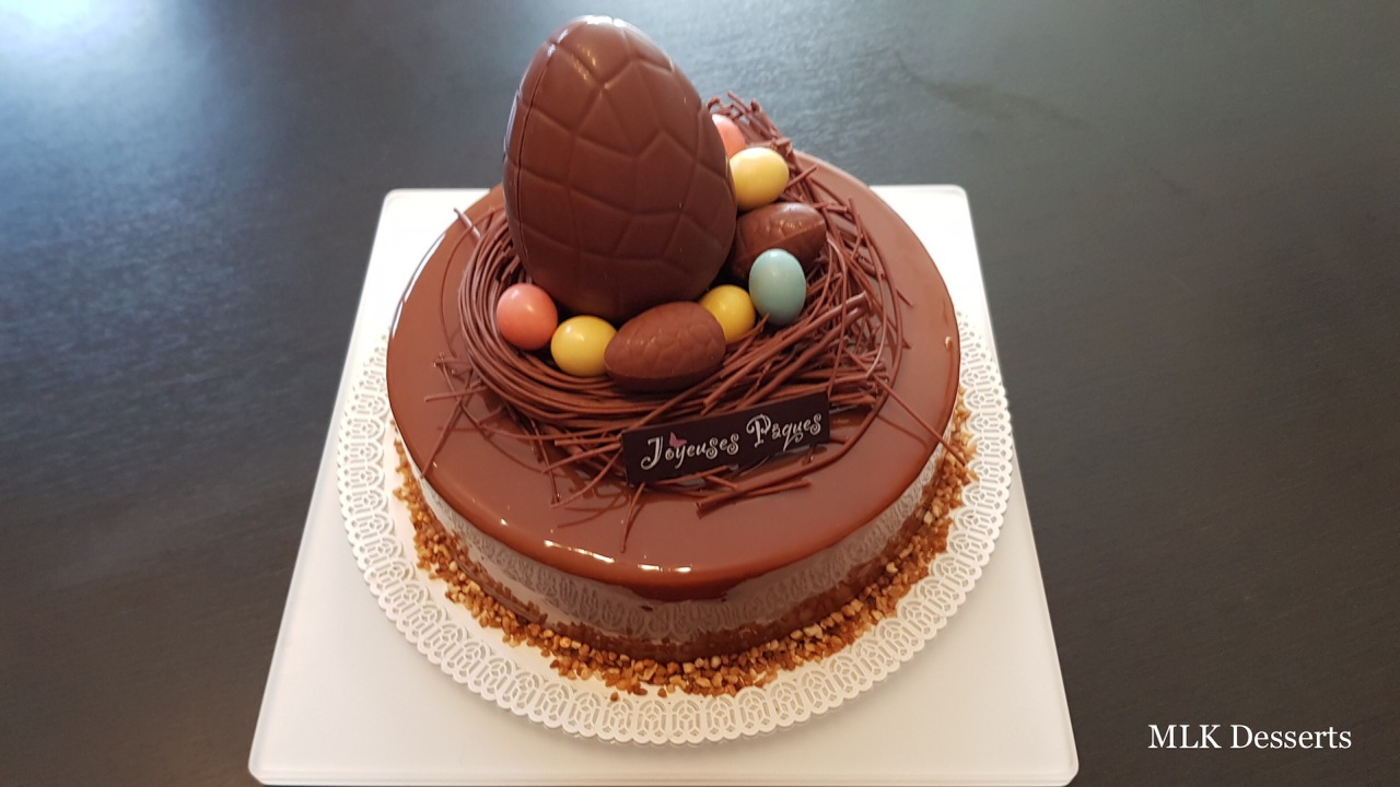 Entremet Poires Chocolat