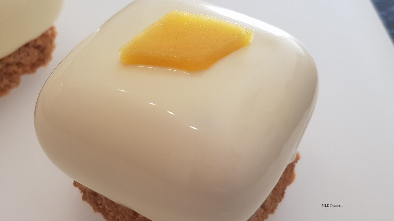 Entremet Cheesecake Mangue Passion