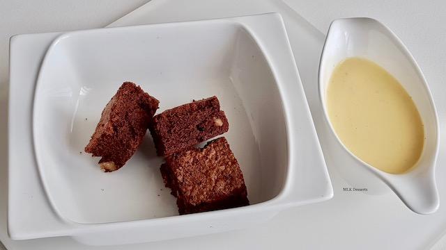 Brownies aux noix de pécancaramélisées