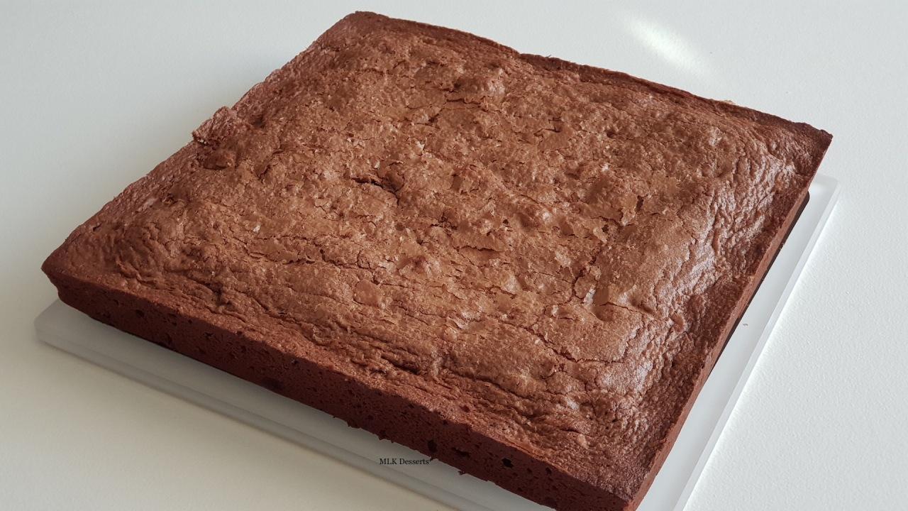 Brownies aux pépites dechocolat