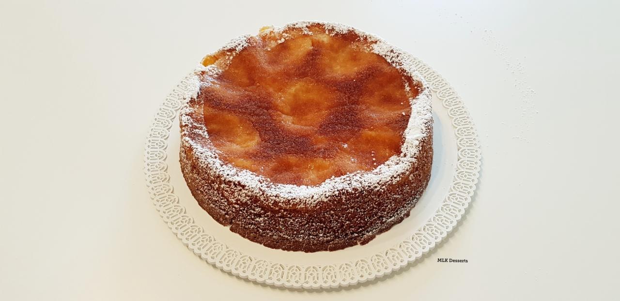 Gâteau moelleux auxabricots