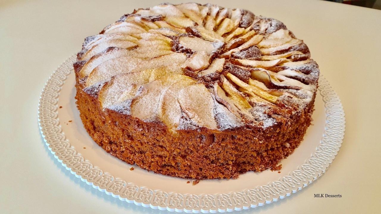 Gâteau moelleux au yaourt auxpommes
