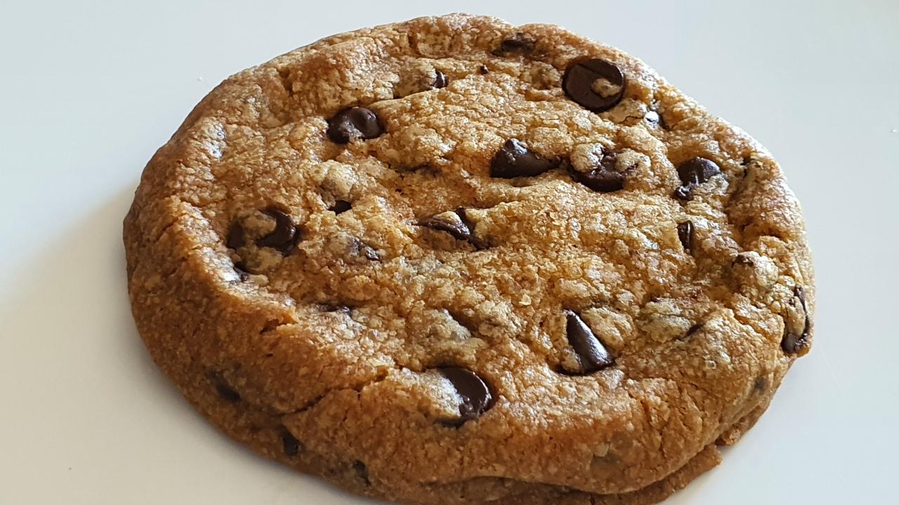Cookies aux pépites de chocolatnoir