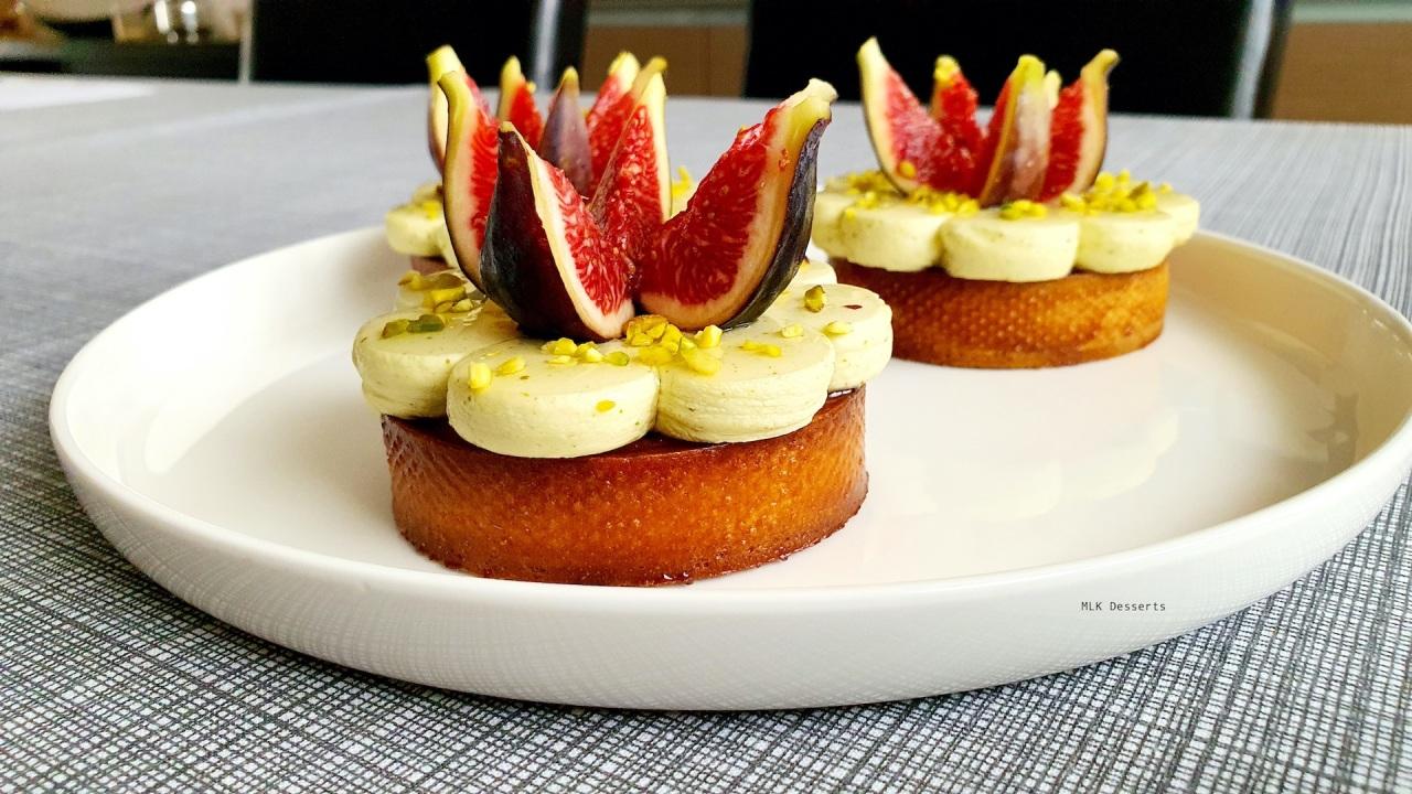 Tartelettes figue pistache